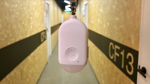 【自救好物】Aiyo0o 閃光電筒警報器 一拉即發出求救訊號