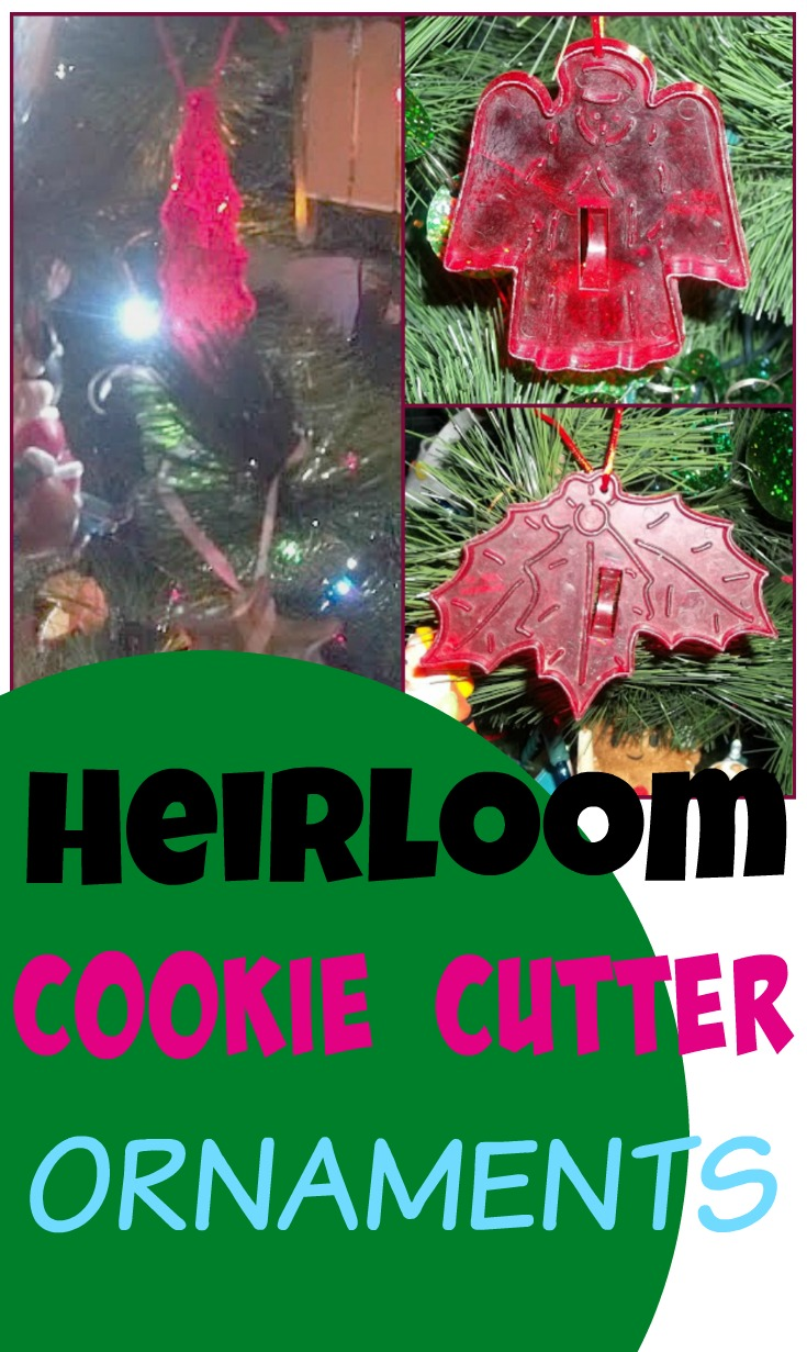 Make Christmas Tree Ornaments from old Cookie Cutters