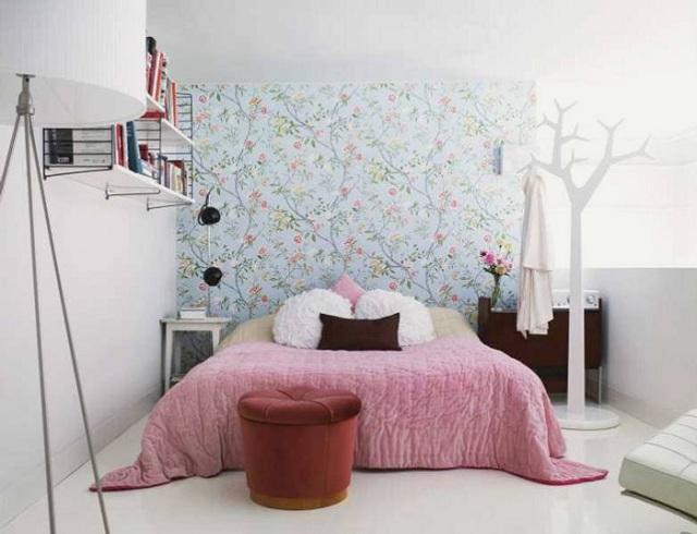 Papel tapiz para dormitorios for Disenos para pintar paredes de habitaciones