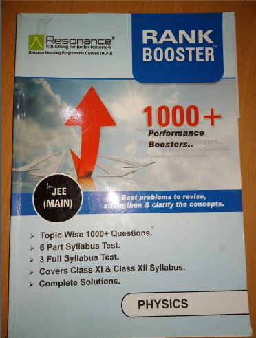 Physics Rank Booster : for JEE Exam PDF Book
