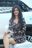 Kritika Telugu cinema Model in Short Flower Print Dress 043.JPG