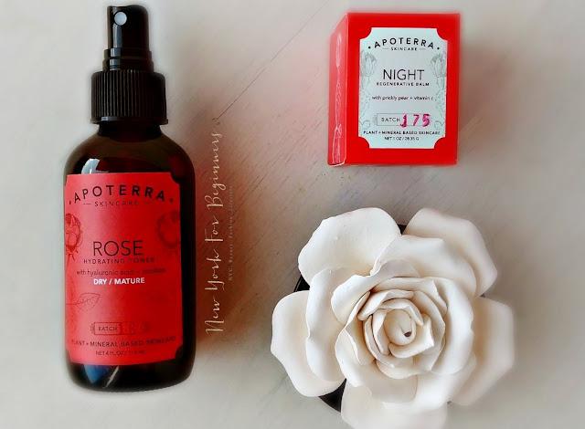Review of Apoterra Night Regenerative Balm for dry skin at www.newyorkforbeginners.com