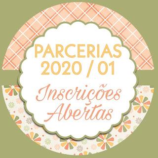 Inscrições Abertas - Parceria 2020/01