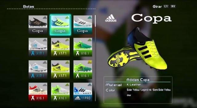 Adidas Copa 17.1 Boots PES 2013