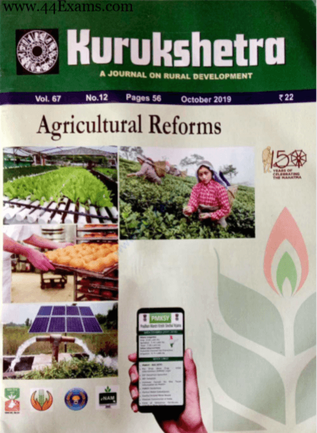 Kurukshetra-Current-Affairs-October-2019-For-UPSC-Exam-PDF-Book