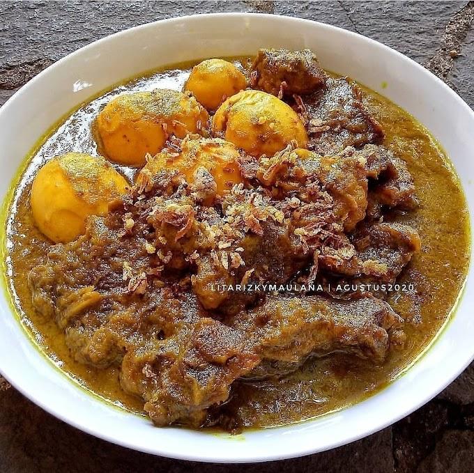Resep Spesial Rumahan Terik Daging dan Telur