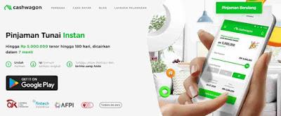 pinjaman online  cashwagon-ojk