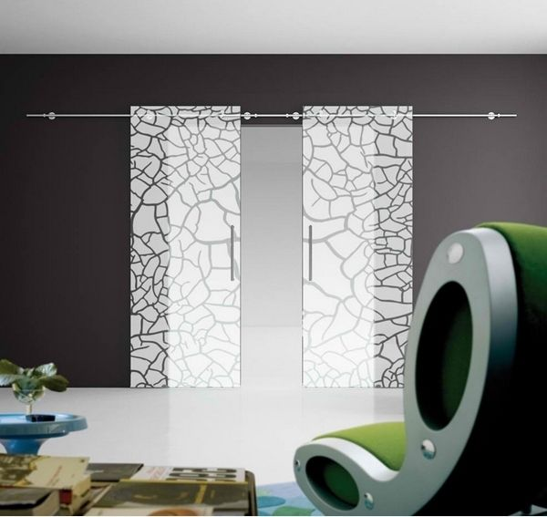 Japanese glass doors
