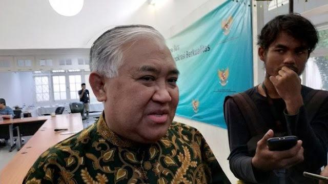 Din Syamsuddin: Narasi 'PKI Tidak Akan Bangkit' Itu Narasi Pendukung Komunis