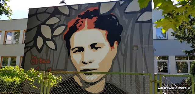 Irena Sendlerowa Warszawa Warsaw warszawskie murale murals graffiti muralart