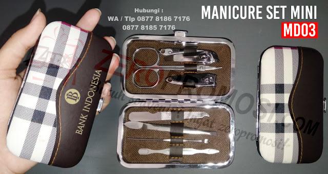 Jual Manicure set promosi, Souvenir Manicure Set - MD 03 Termurah, Jual Perawatan Kuku Terbaru, Manicure Set, Multi-Tools, Souvenir Gunting Kuku, MANICURE SET MINI - Alat Manicure Pedicure Set Mini.