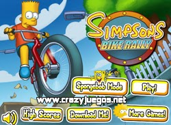 Jugar Simpsons Bike Rally