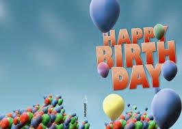 almanca duğum günü kutlama tebrik kartı / resimli