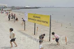 Teuku Sahir Sahali Larang Pengunjung Berenang di Pantai Ancol dan Atlantis