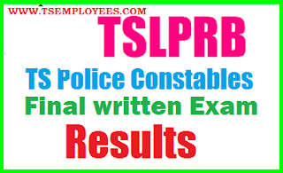 Telangana Police Constable Mains Results 2017 TSLPRB Final Results Provisional Selection List