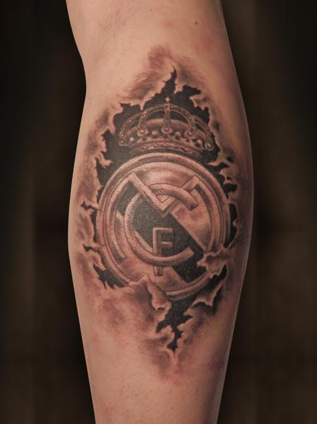 Tatuaje Real Madrid
