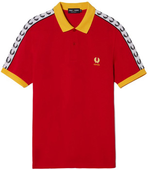 camiseta polo España Fred Perry Euro 2016