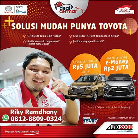 Top Sales Toyota Tangerang