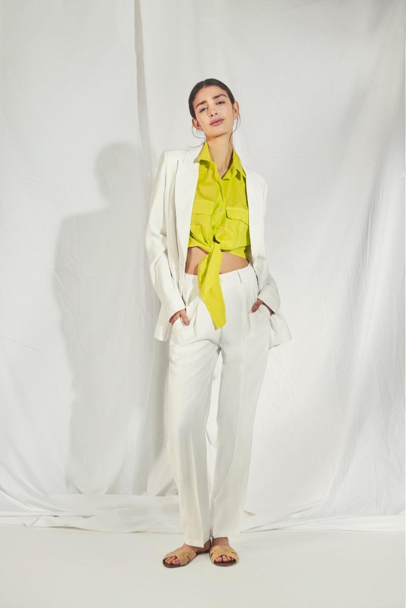 pantalones blancos verano 2021
