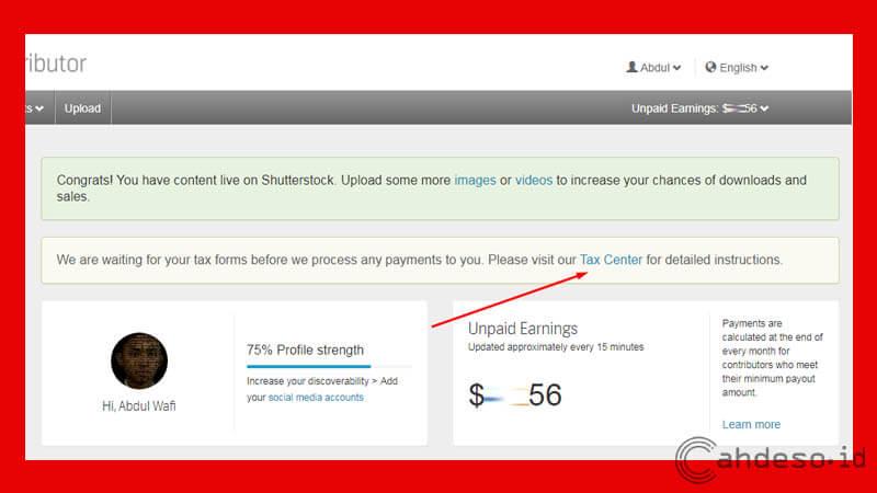 Cara Mengisi Formulir Pajak W-8 Shutterstock