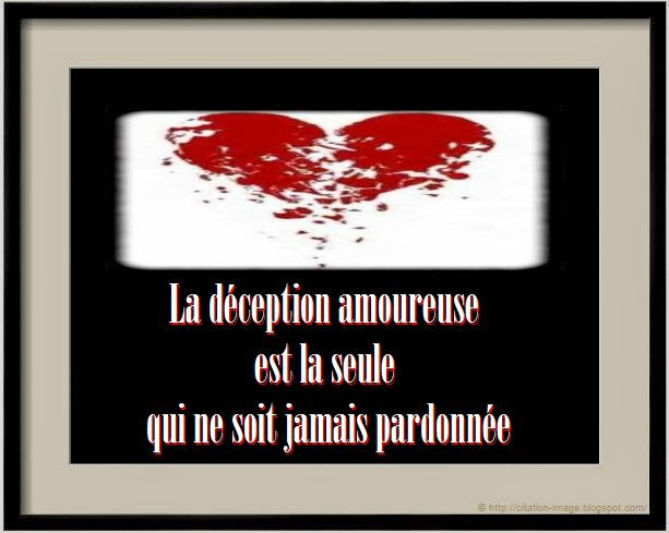 Exceptionnel Citation deception amour ~ Citation en image : photo citation UB57