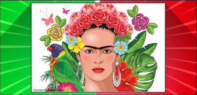 Q 5. A force in the art world, Frida Kahlo was born in Coyoacán, a village on the outskirts of Mexico City.