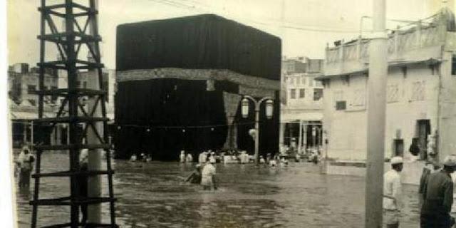Tahukah Anda Bahwa Ka'bah Juga Pernah Terendam Banjir