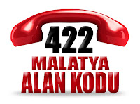 0422 Malatya telefon alan kodu