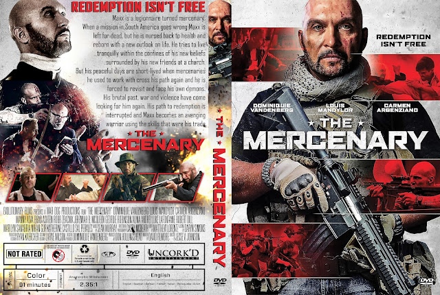The Mercenary DVD Cover