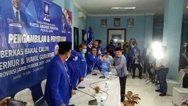 Kandidat Pertama Ambil Formulir Calon Gubernur, Al-Haris : Ini Konteks Kemanusiaan