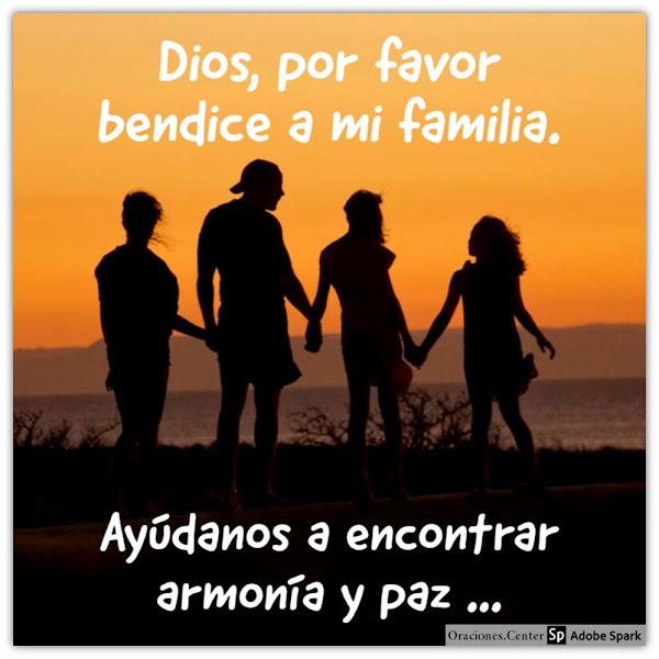 Una Oración para mi Familia