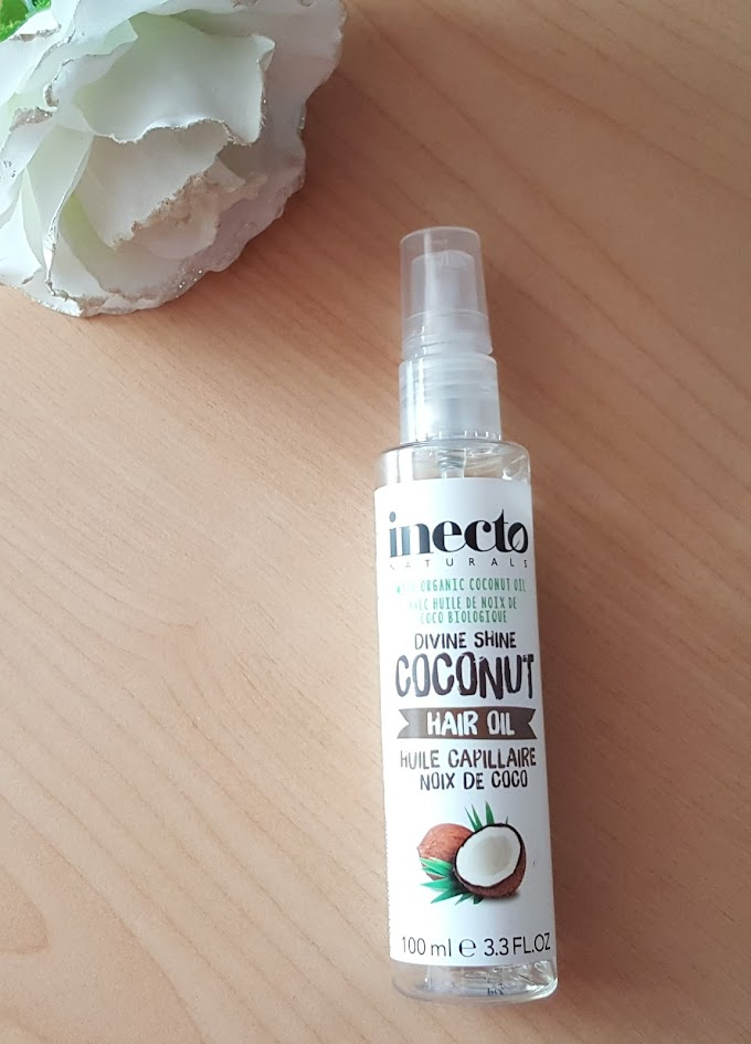 Inecto Hindistan Cevizli Saç Bakım Yağı Deneyimim - Divine Shine Coconut Hair Oil ❤