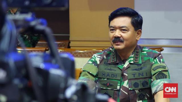 Panglima TNI: Suara Ping Black Box Terdengar Semakin Keras