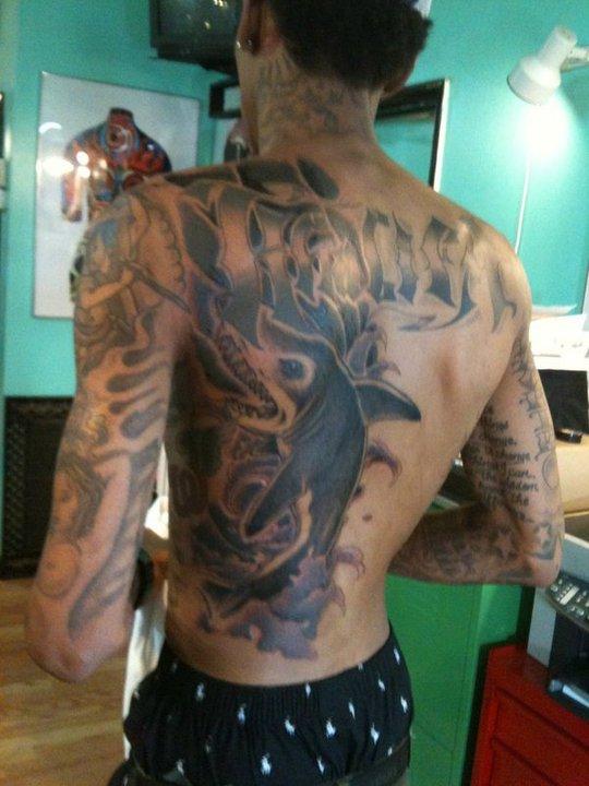 The Cpuchipz Tattoo Ideas Wiz Khalifa Tattoos Pictures