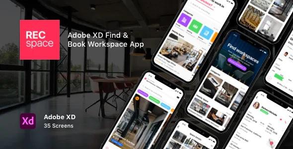 Best Find & Book Workspace App