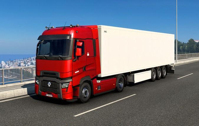 Renault apresenta nova geração de caminhões T e T High através do Euro Truck Simulator 2