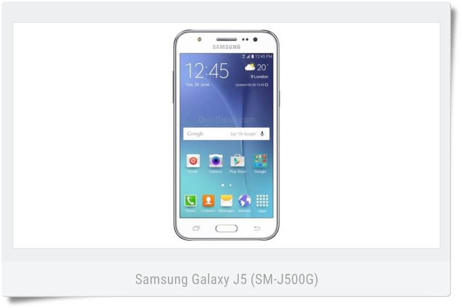 Samsung Galaxy J5 (SM-J500G) XID Indonesia - J500GXXU1AOL1