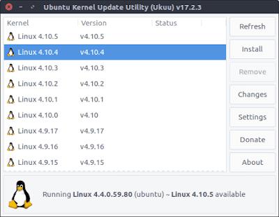 Cara Install Ukuu di Elementary Linux