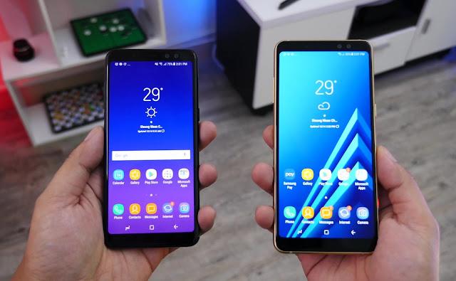 Samsung Galaxy A6 vs Galaxy A8 Specification