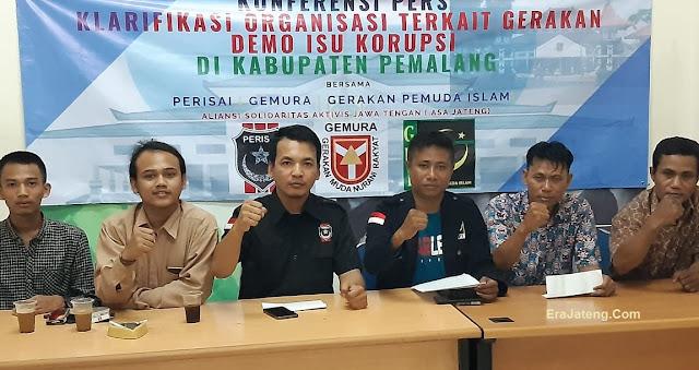 Demo Anti Korupsi Di Pemalang Ambyar, Ormas Sebut Sebagai Dagelan Politik Jelang Pilkada