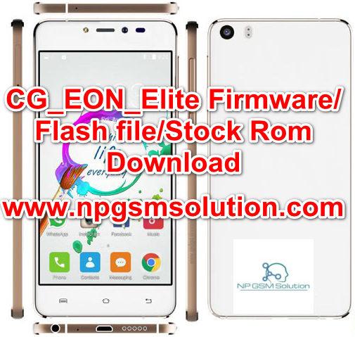CG_EON_Elite Firmware/Flash file/Stock Rom Download