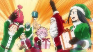 ヒロアカ 5期アニメ | 八百万百 Yaoyorozu Momo クリスマス サンタ | 僕のヒーローアカデミア My Hero Academia Christmas Party