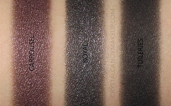 Palette ombres paupières Golden Hour Viseart Swatches