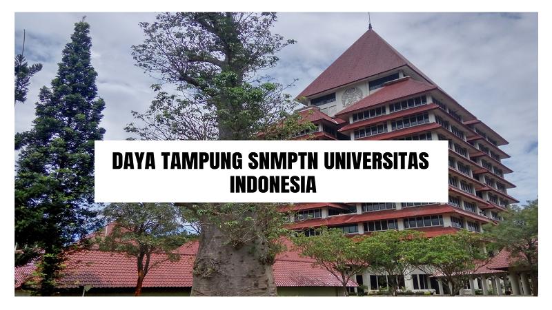 Daya Tampung SNMPTN UI 2022/2023 (Universitas Indonesia)