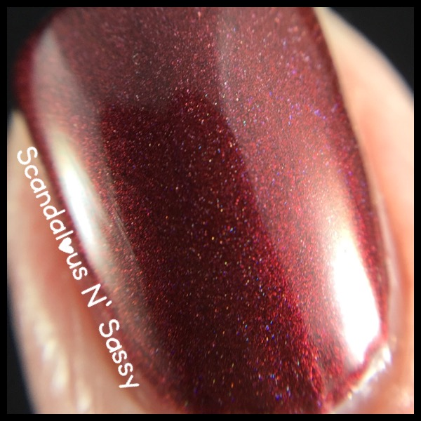 Lilypad Lacquer Sinner macro