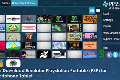 Free Download Emulator Playstation Portable PSP for Smartphone Tablet Android