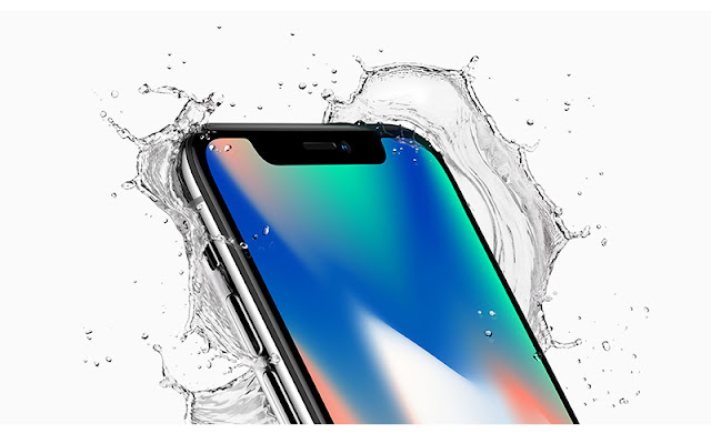 iPhone X Anti air hingga kedalaman 1 meter