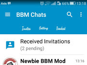 Download BBM MOD KIMOCHI SIMPLE BLUE V3 (BBM V3.0.1.25) Newest Update