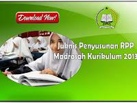 Juknis Penyusunan RPP Madrasah Kurikulum 2013 Tahun 2020