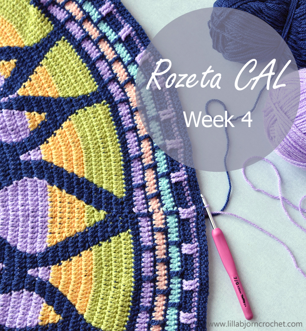 Complete photo-tutorial with step by step pictures for Week 4 of Rozeta CAL